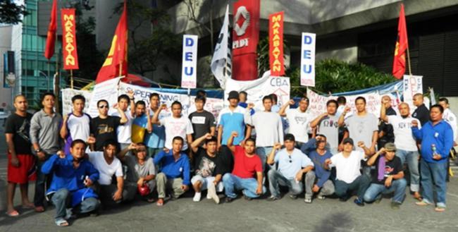 ○PLDT本社前での抗議集会 DEU MAKABAYAN.jpg